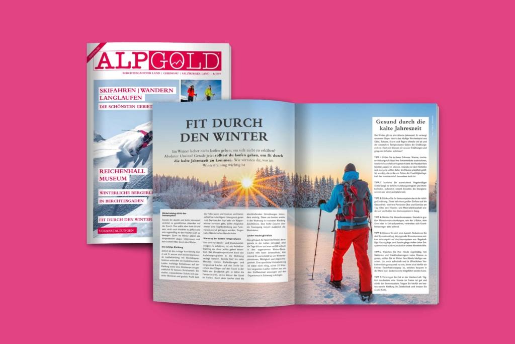 ALPGOLD Magazin